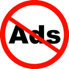 Ad-free Internet icon