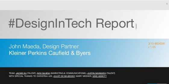 Design in Tech Report Gives Design Founders Top Marks