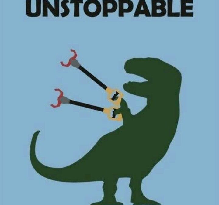 Unstoppable T-Rex