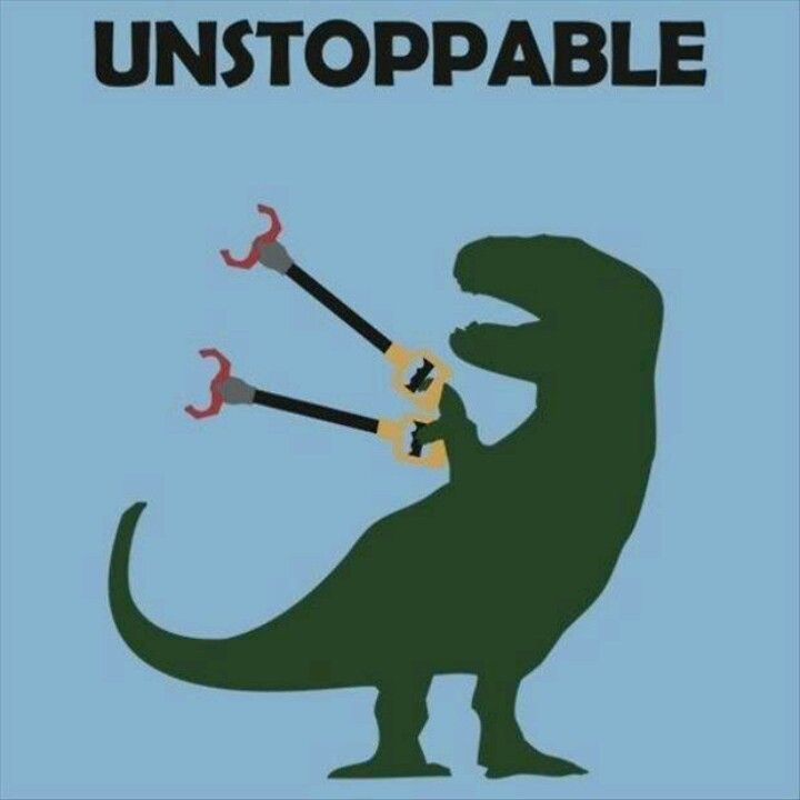 unstoppable trex
